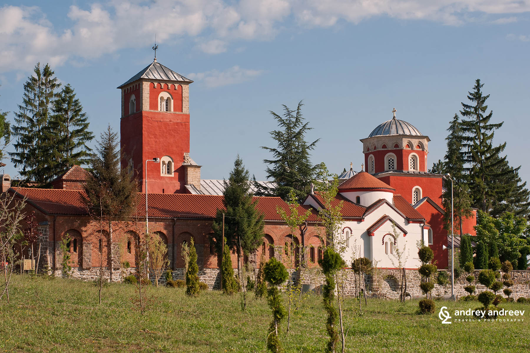 Žiča Monastery, Serbia, one of the most beautiful monasteries in Serbia