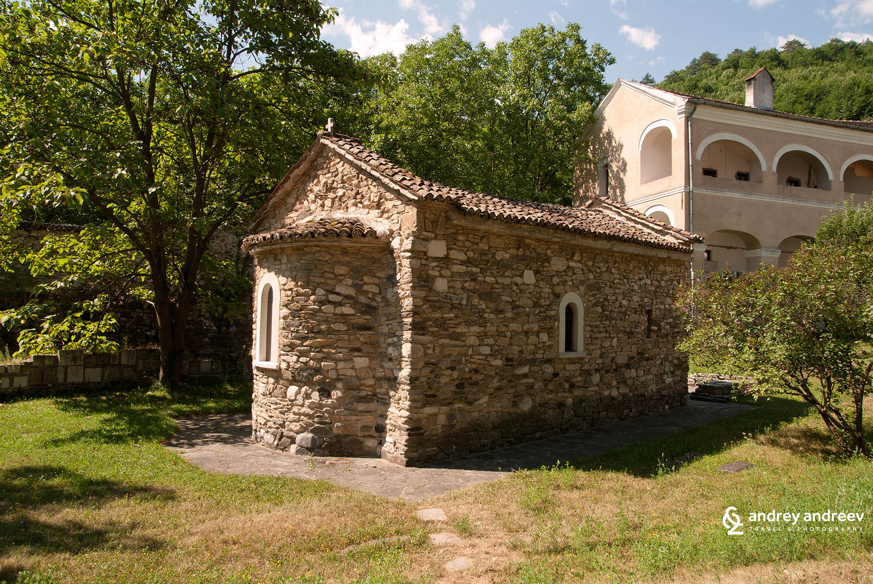 Beautiful small chapel in Studenica monastery, Serbia