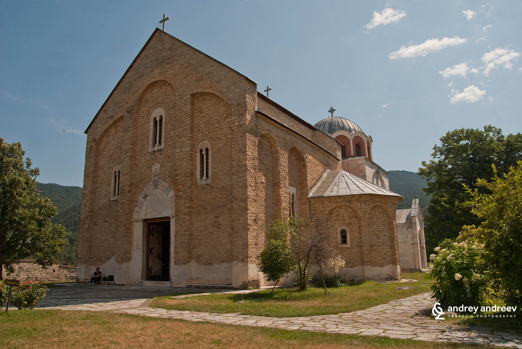 Studenica monastery, southern Serbia