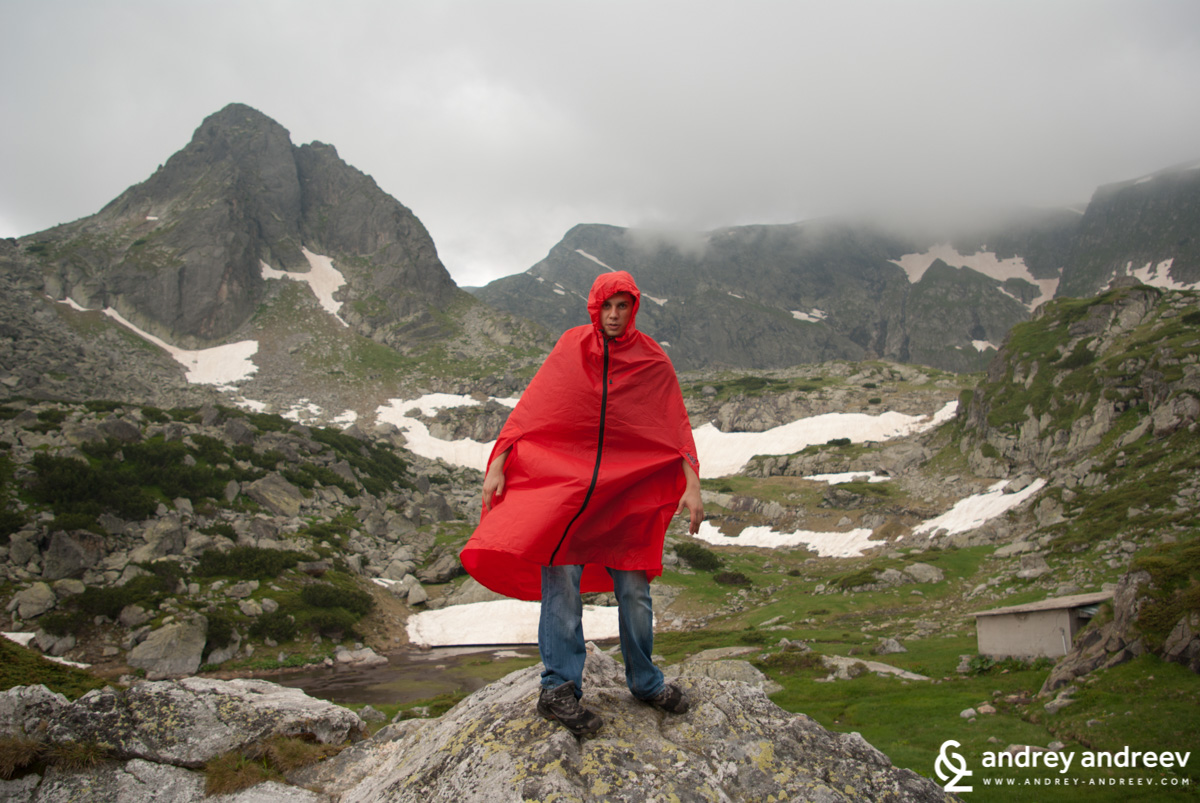 Andrey during one of his mountain escapes years ago