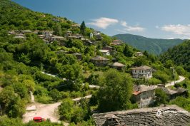 Kosovo village, Bulgaria. Beautiful villages in Bulgaria. Old Bulgarian villlage