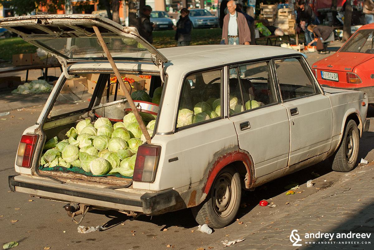 Market in Pirot