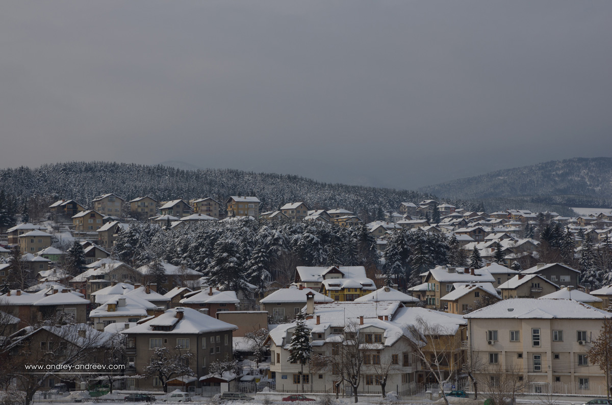 The view from the hotel - Velingrad, Bulgaria