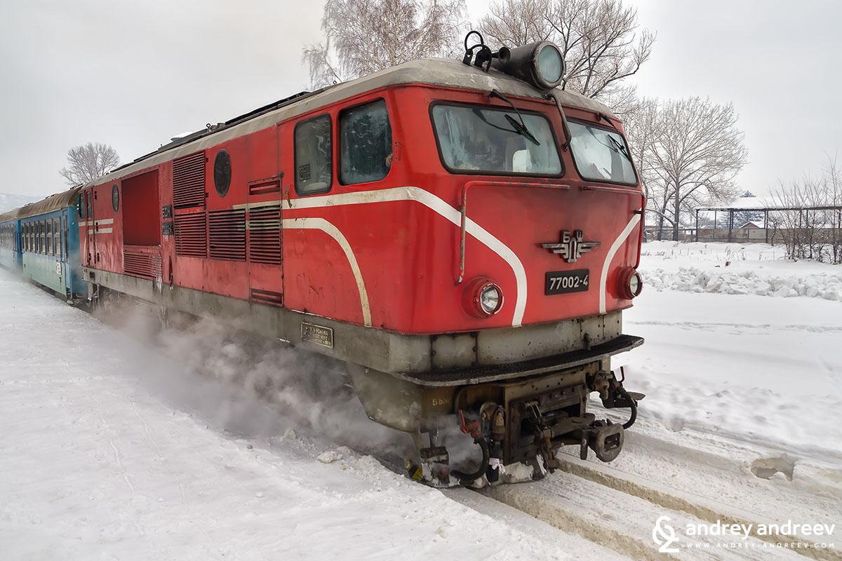 One of most beautiful train journeys in Bulgaria - the narrow gauge railway