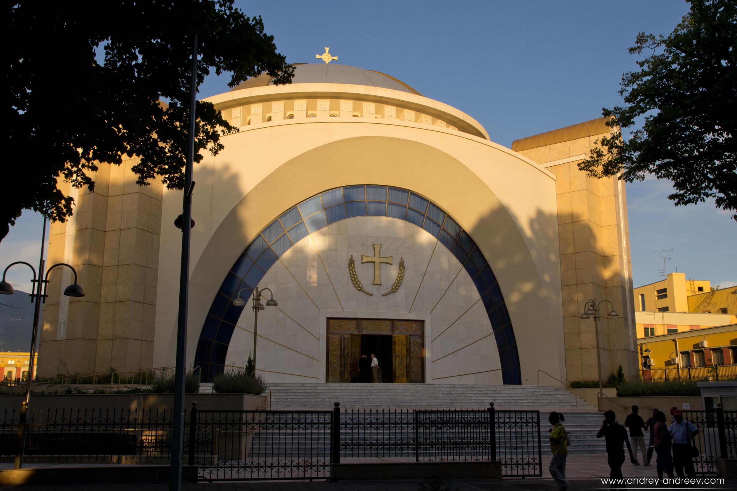 В тирана и Албания има много православни християни