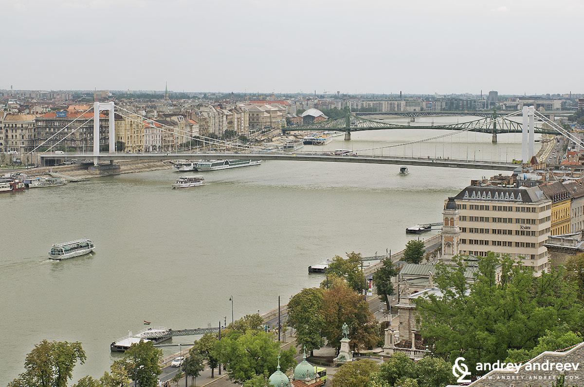 Мостовете в Будапеща