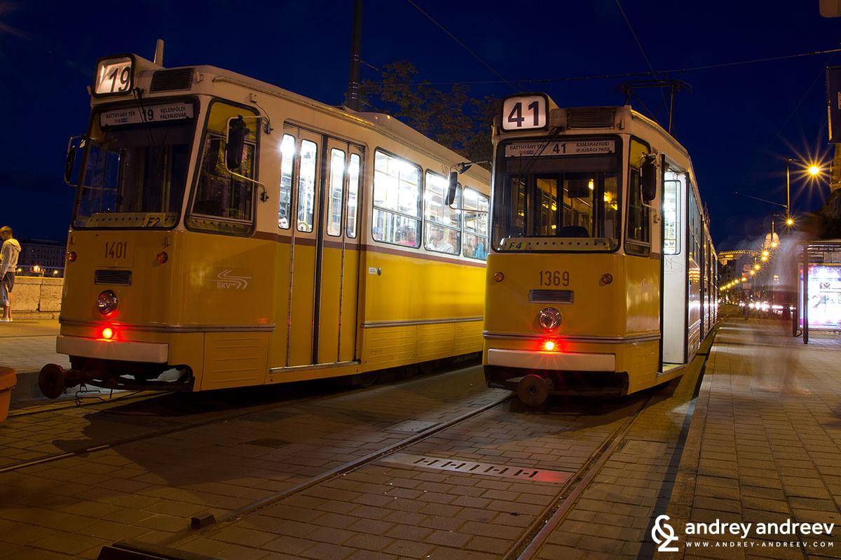 Трамваите на Будапеща