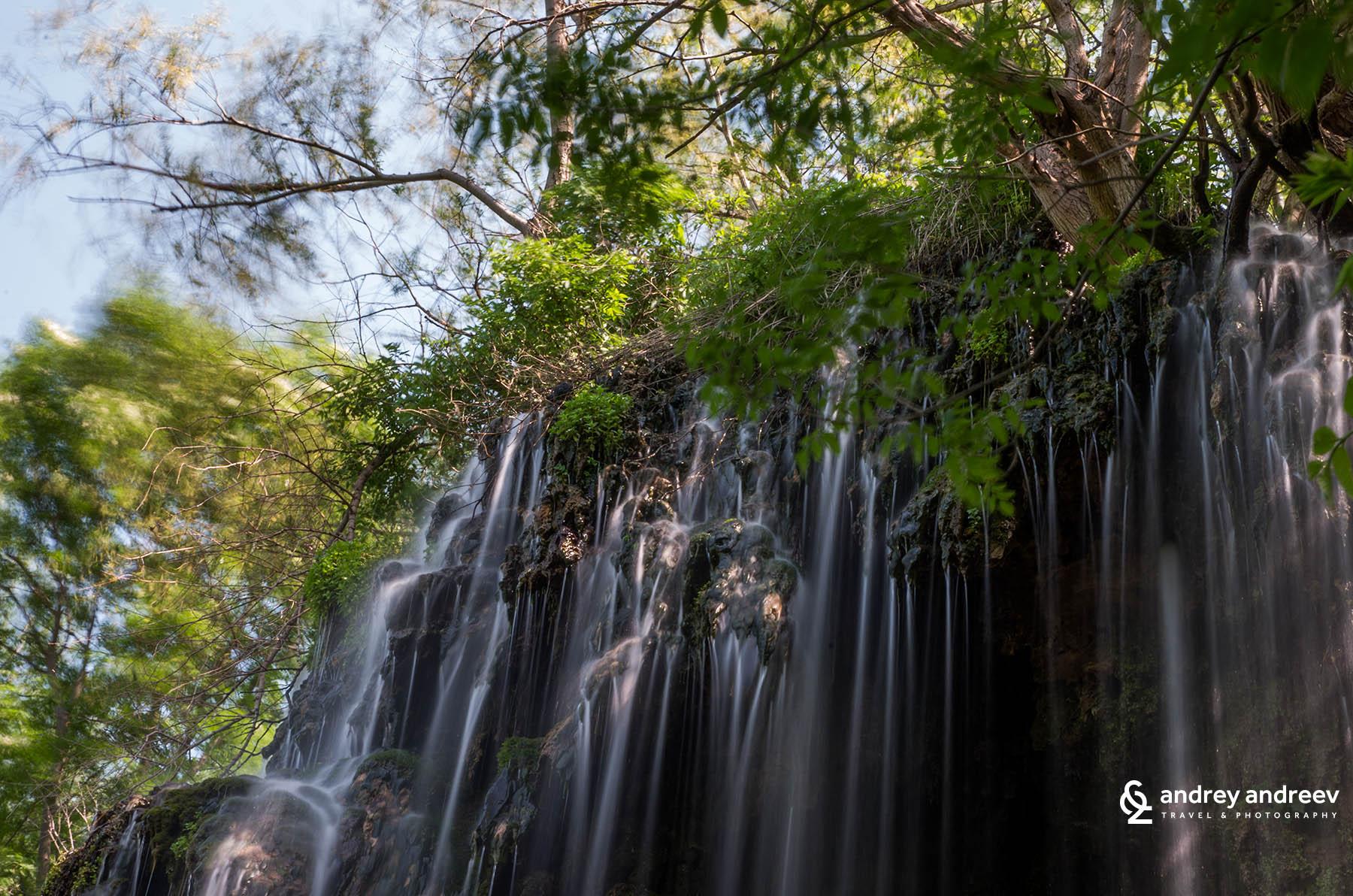 Водопад Зелената скала / The green rock waterfall
