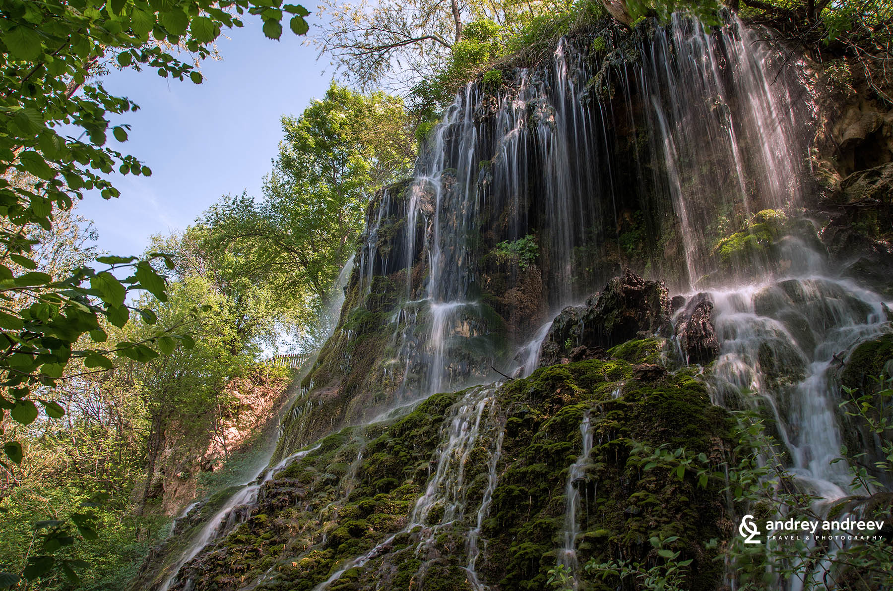 Krushuna waterfalls and devetashka cave bulgaria andrey for Rock waterfall
