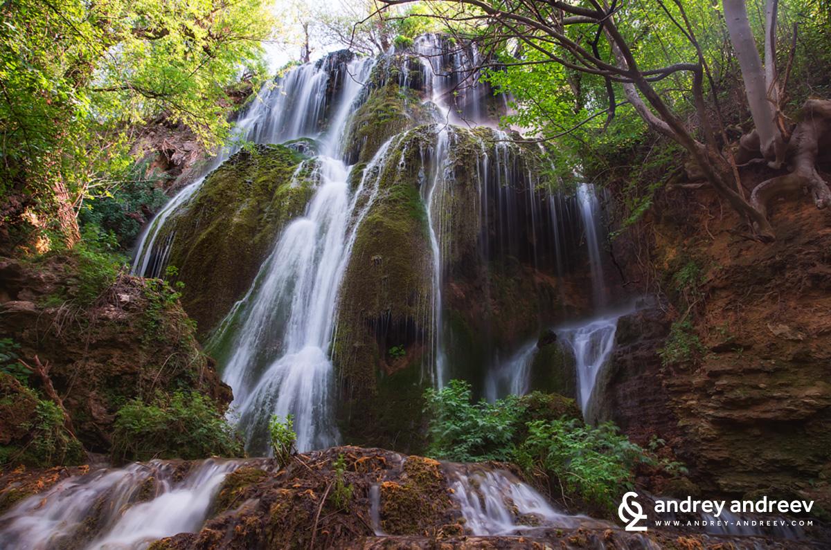 Водопад Зелената скала / Waterfall The green rock