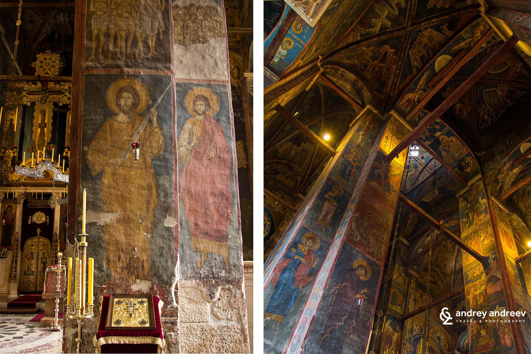 The church in Visoki Dečani, Църквата във Високи Дечани