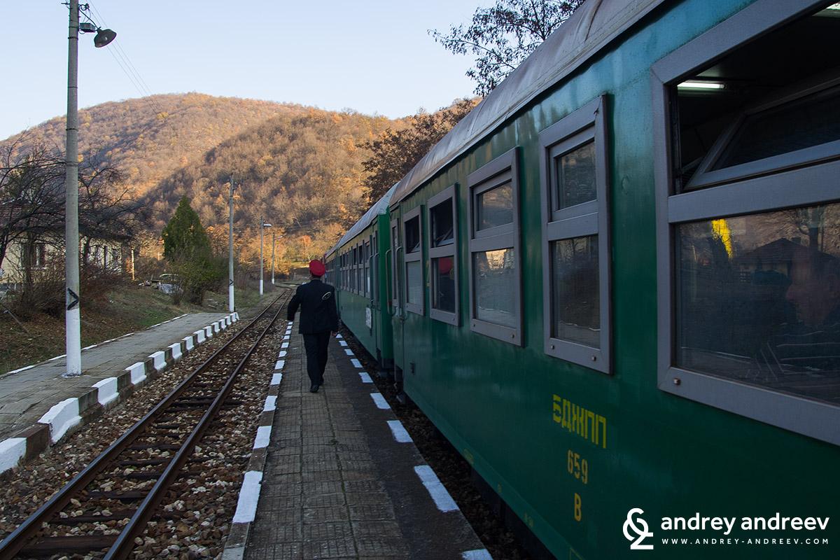 гара Долене / Dolene station