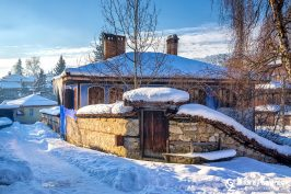 Koprivshtitsa is very beautiful place in the winter