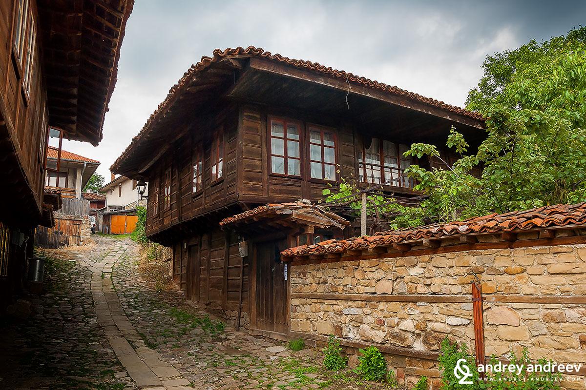 Къща в старата част на Котел