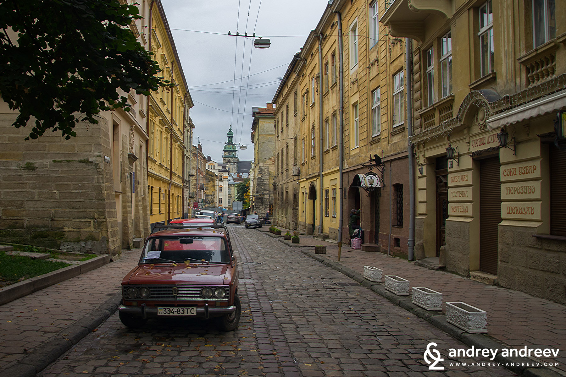 The cosy streets of Lviv