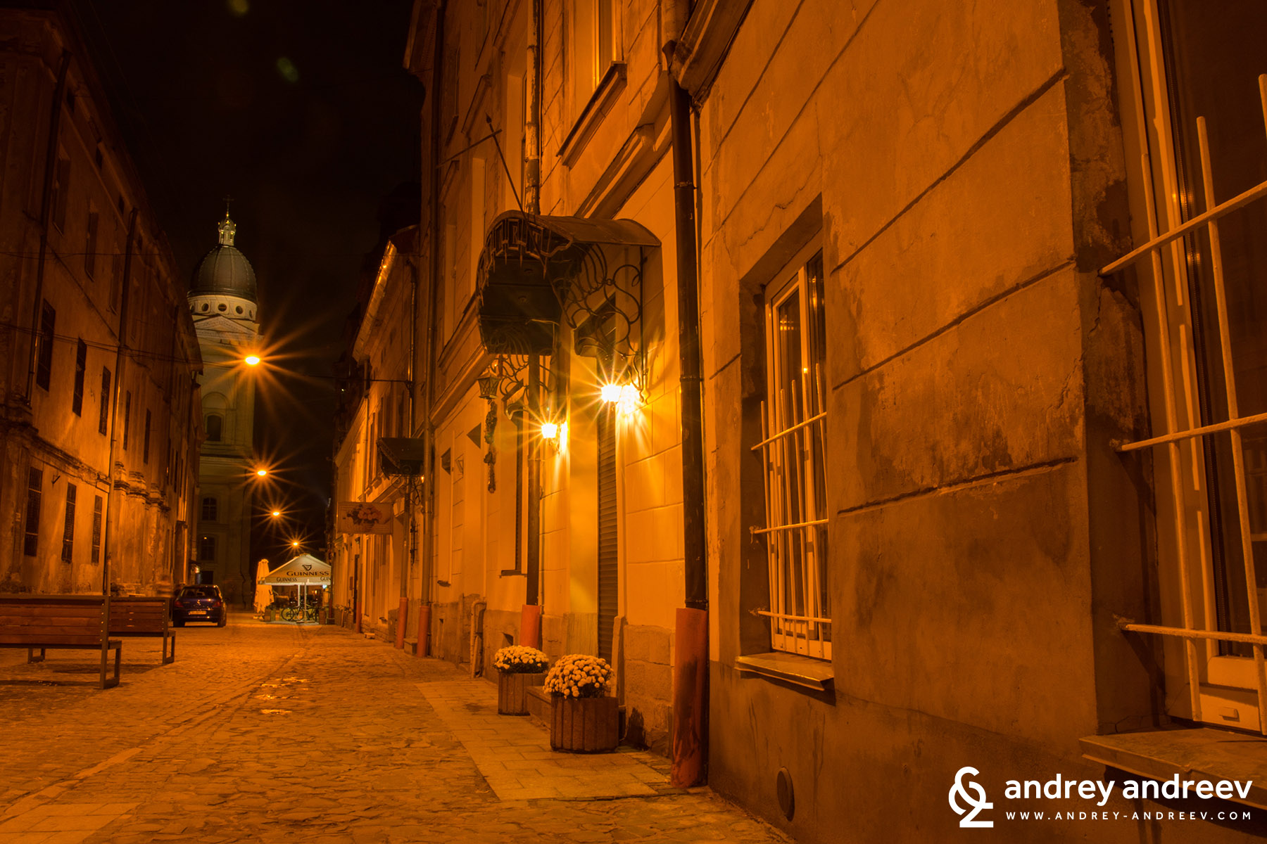 The small streets of old Lviv