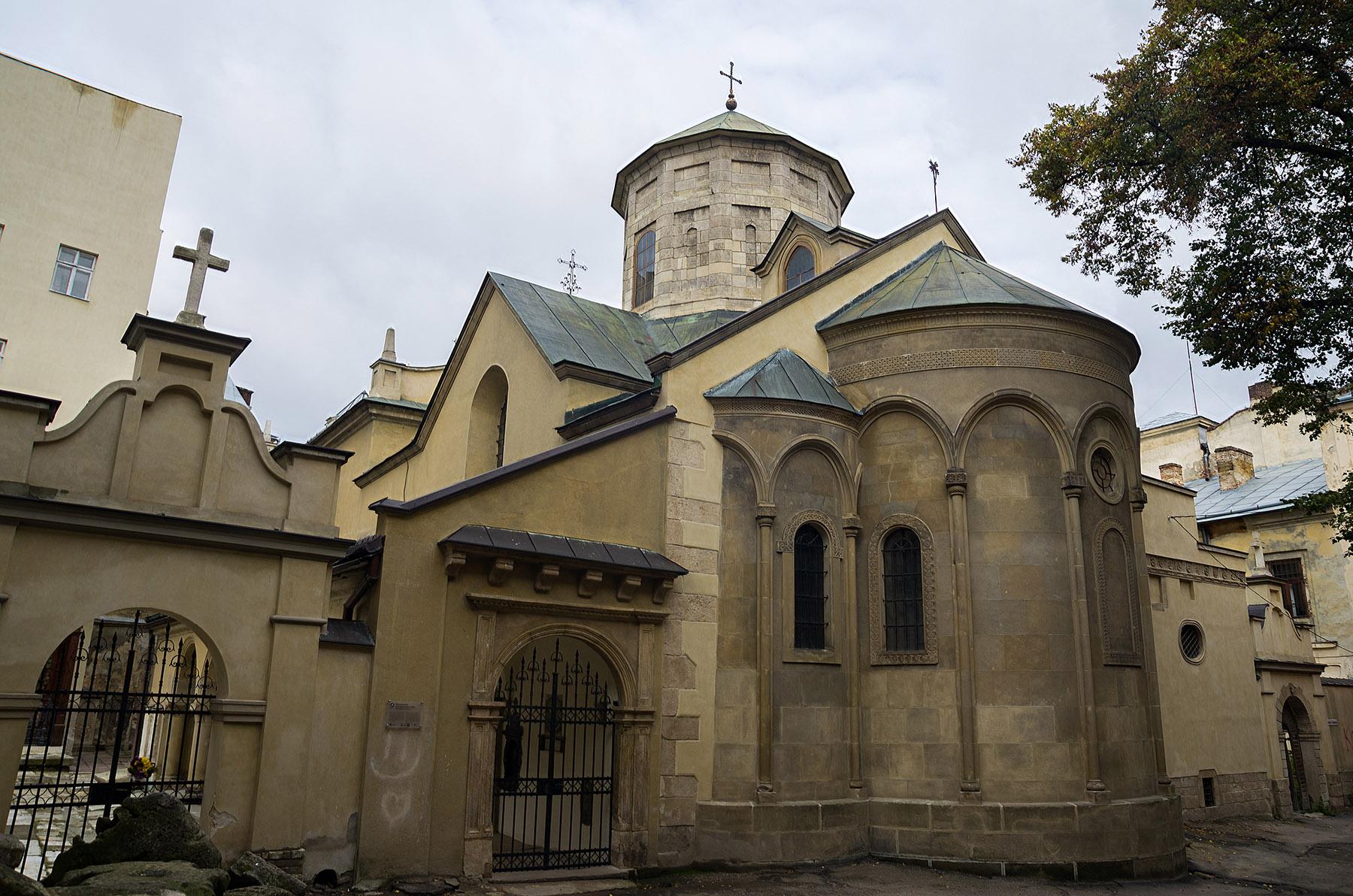 Арменската катедрала в Лвов, Украйна