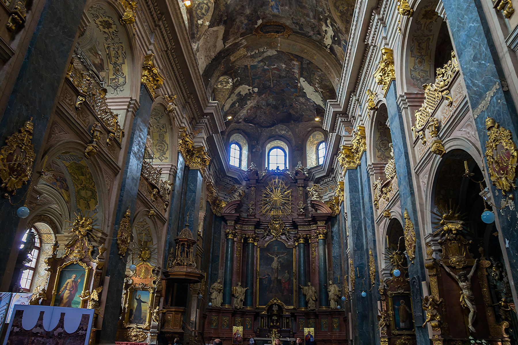 "Jesuit Cathedral ""Sts. Peter and Paul"", Lviv Ukraine"