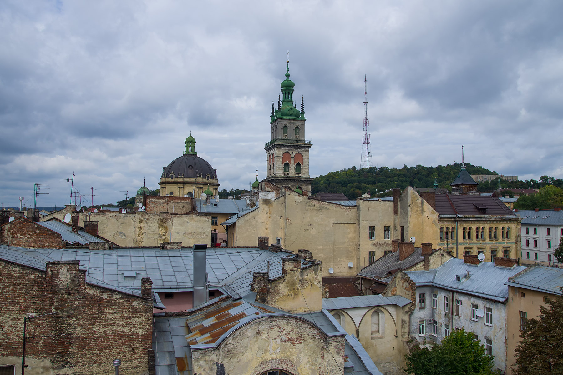 Lviv from the rooftops