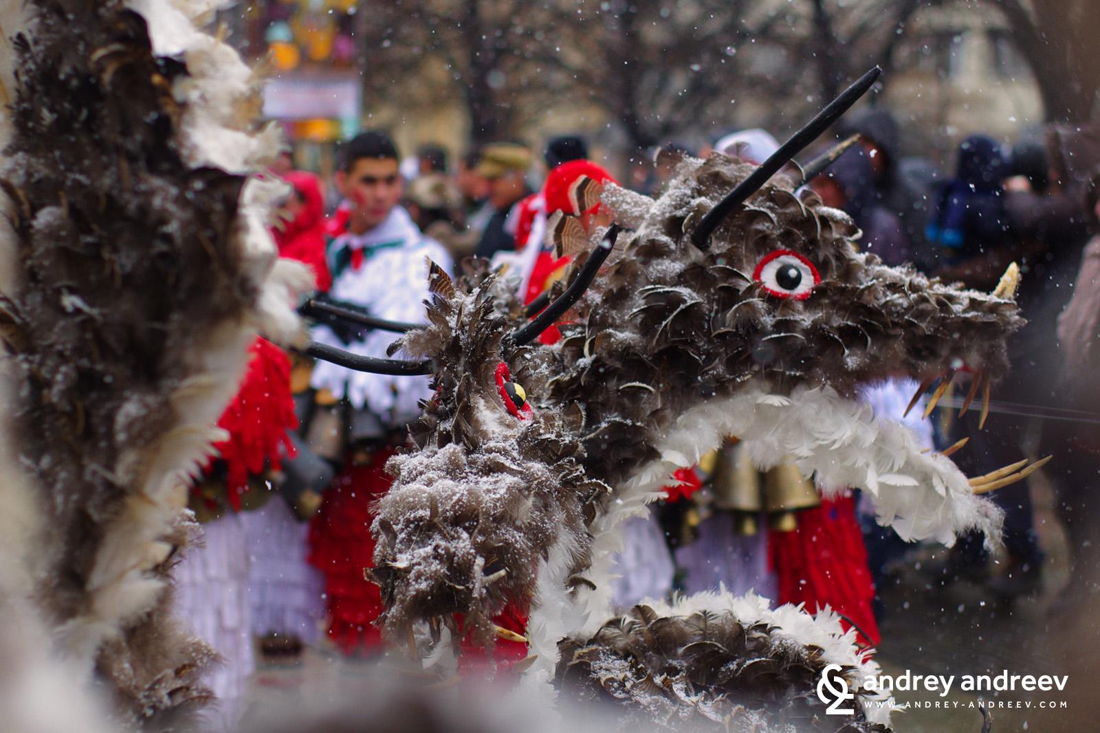 A masque from Drugan village