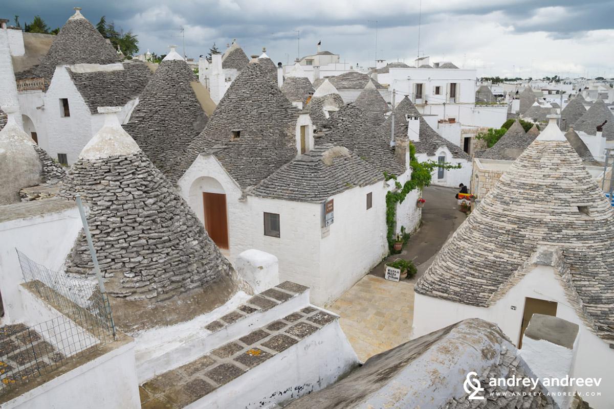Малките красиви къщички в Алберобело