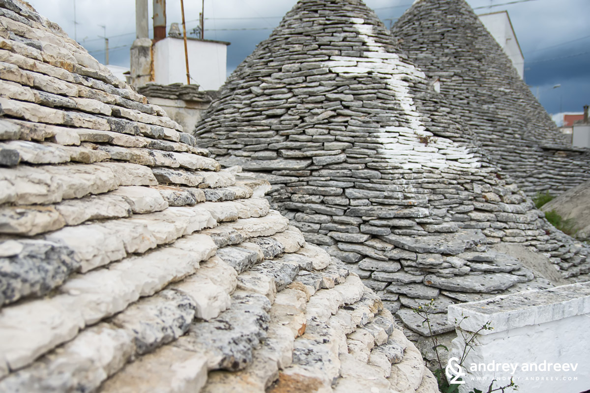 Magic sing of a trullo