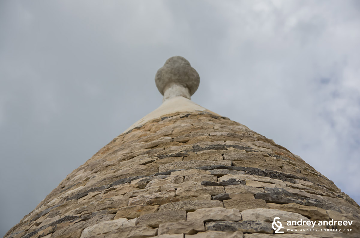 The hat of a trullo