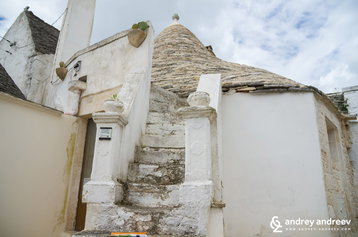 Trullo stairs