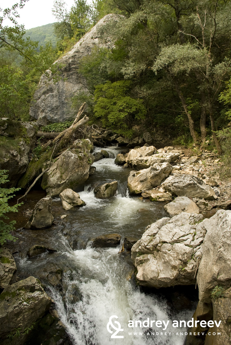 Erma Canyon in Bulgaria