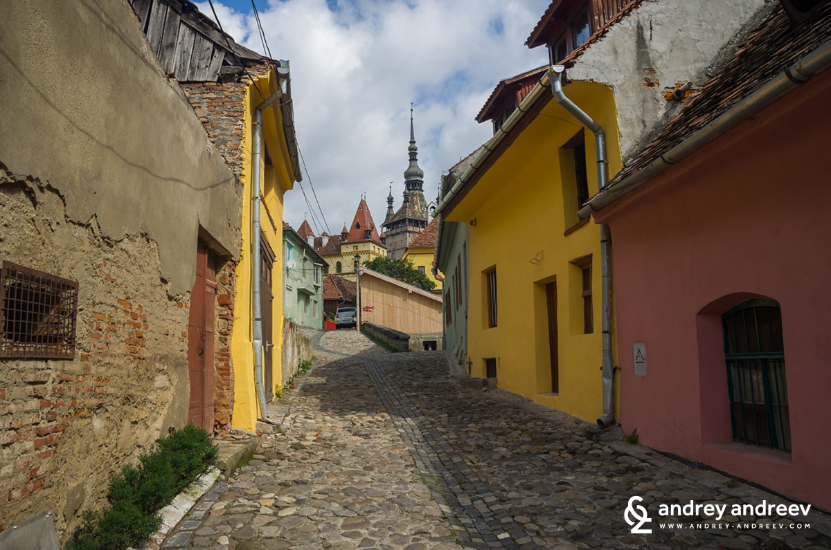 The lanes of old Sighisoara 2