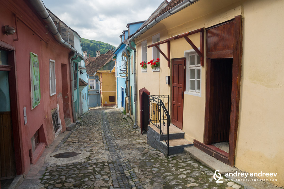 The lanes of old Sighisoara