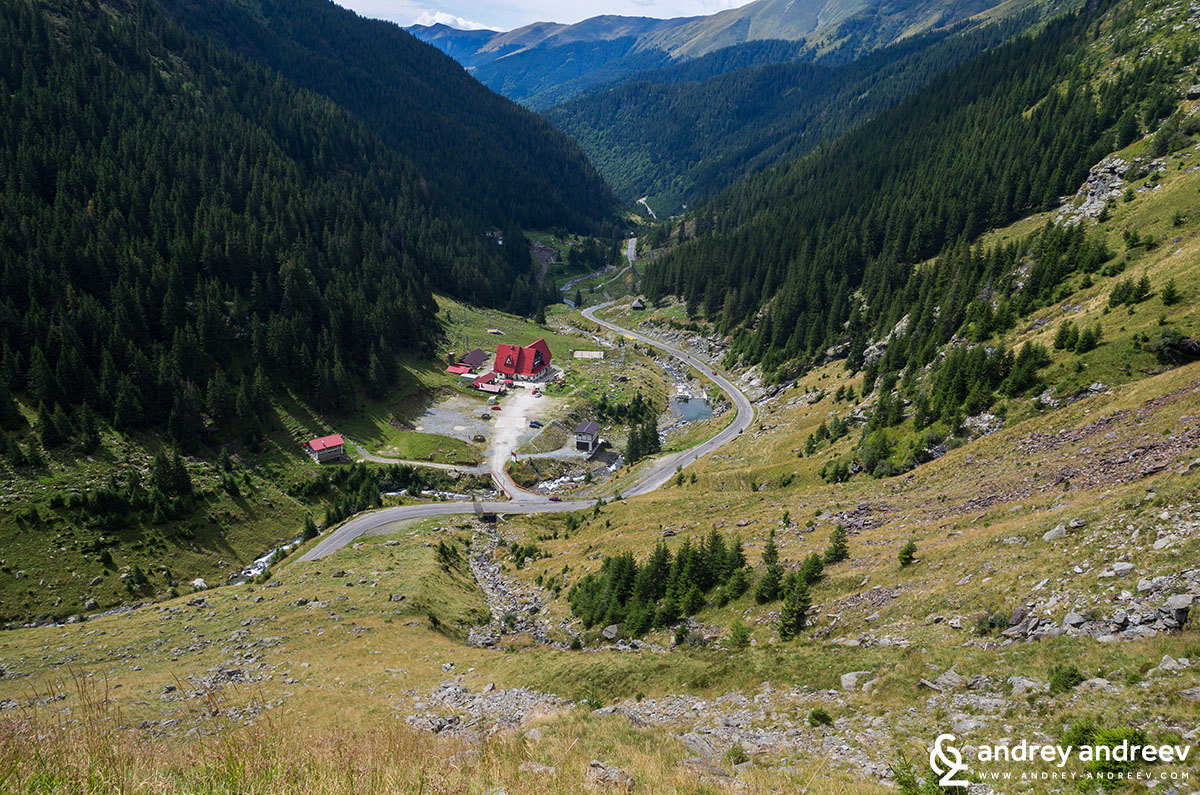 The Transfăgărășan road