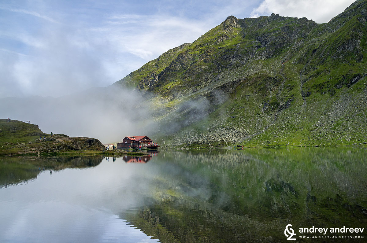 Balea lake, one of the most beautiful places along the Transfagarasan road