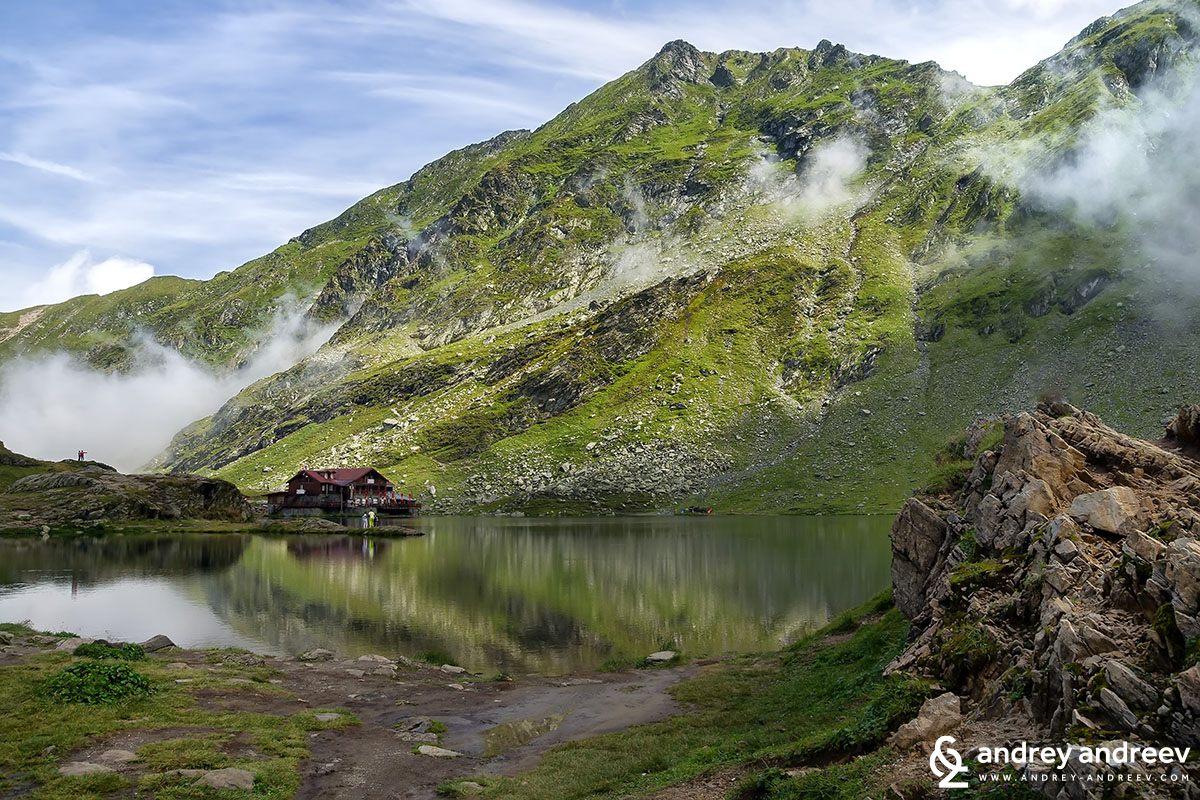 Pure beauty - Balea lake in Romania, Transfagarasan highway