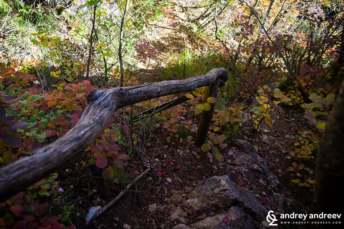 Yablanitsa gorge path