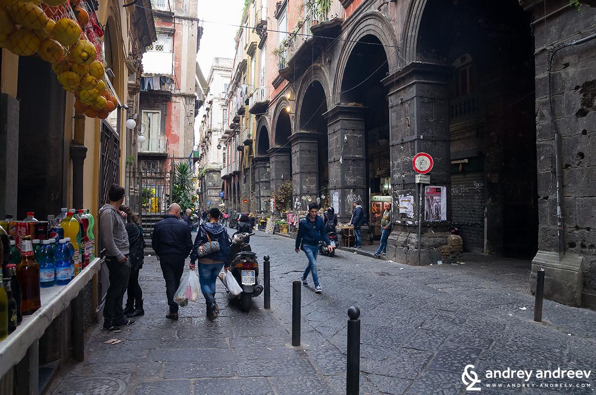 Via Dei Tribunali, Naples, Italy