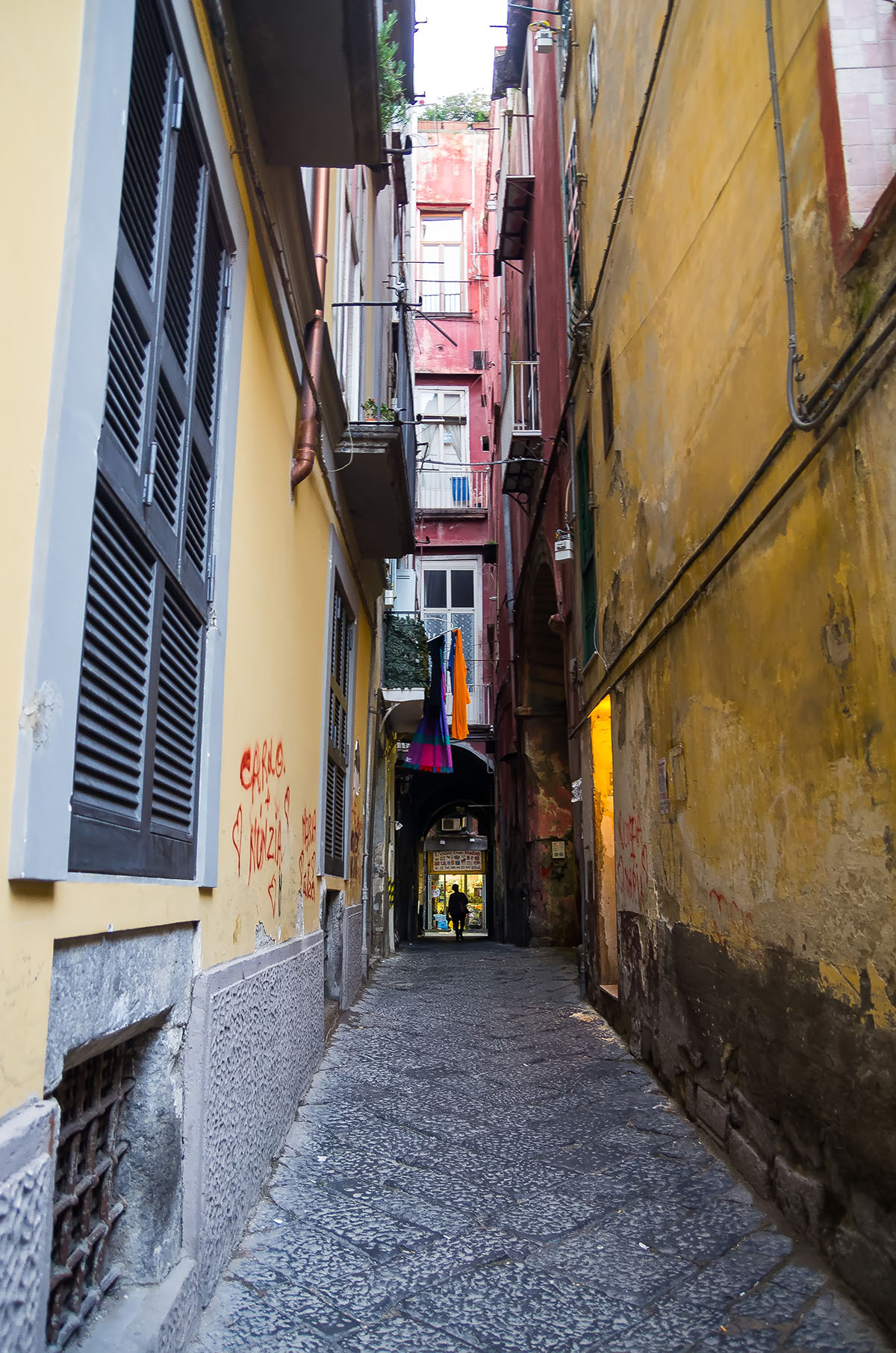 Streets in the historical centre of Naples 2