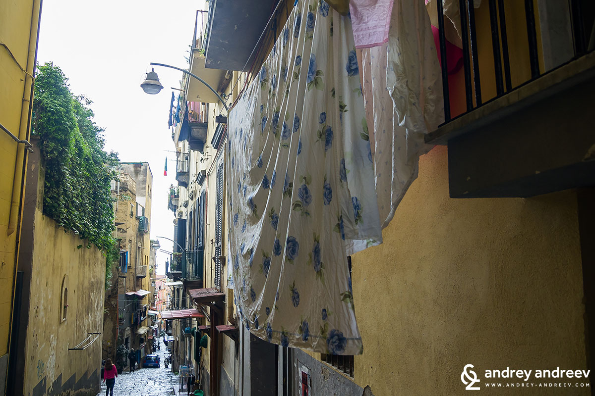 Spanish quarter, Naples, Italy 3