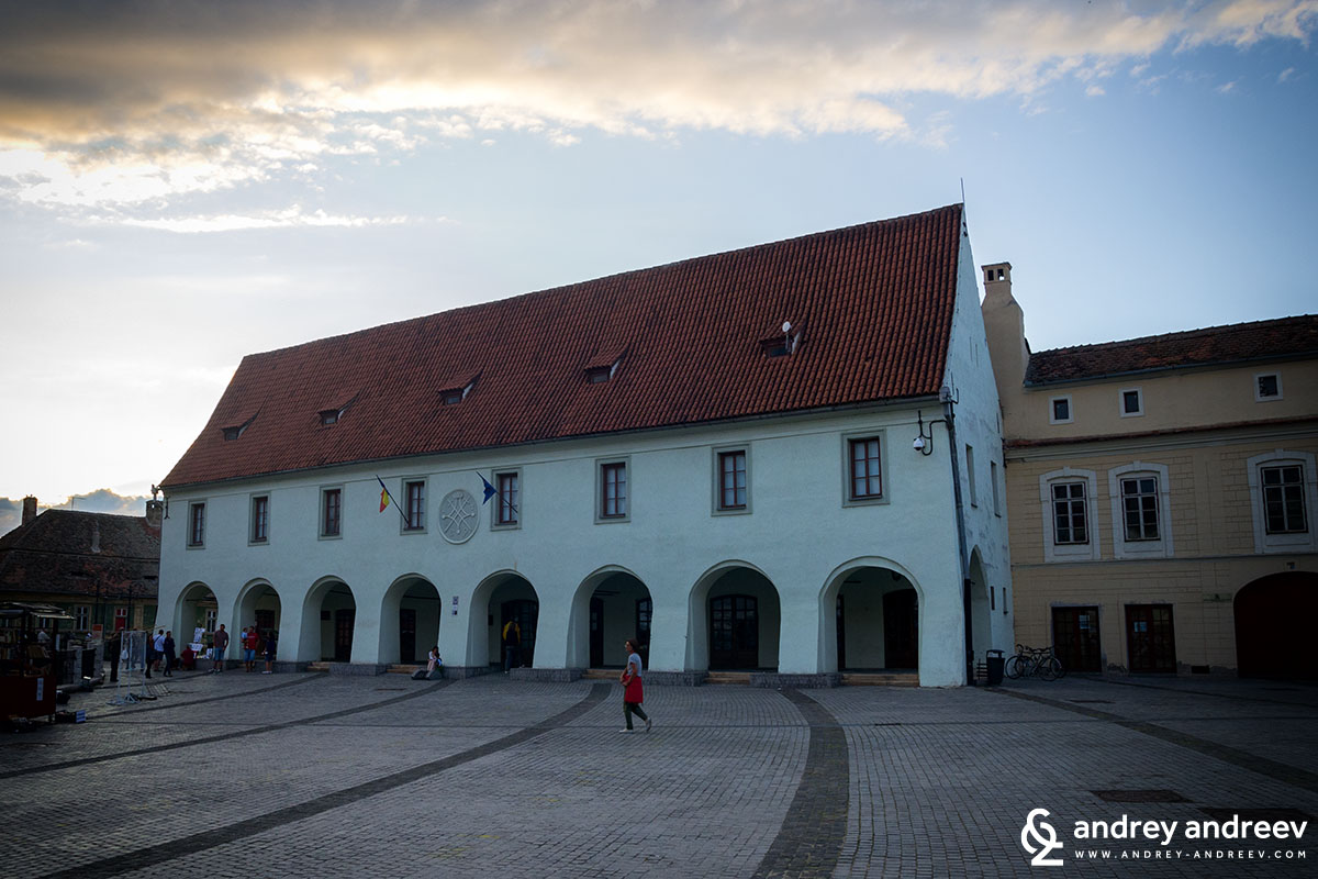 Small square of Sibiu