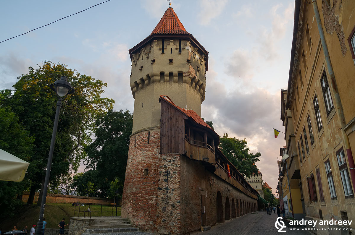 Fortification tower in Sibiu