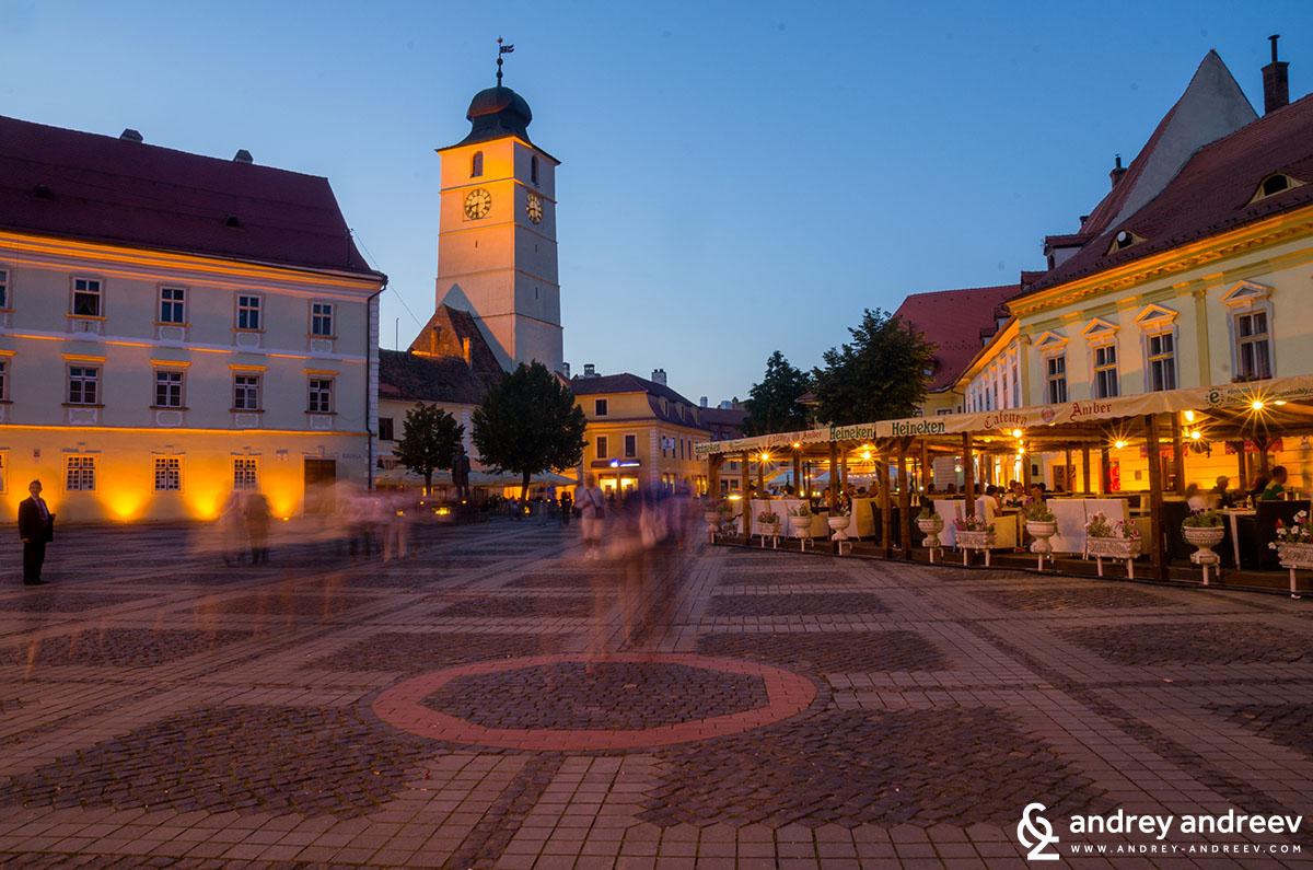 Centre of Sibiu