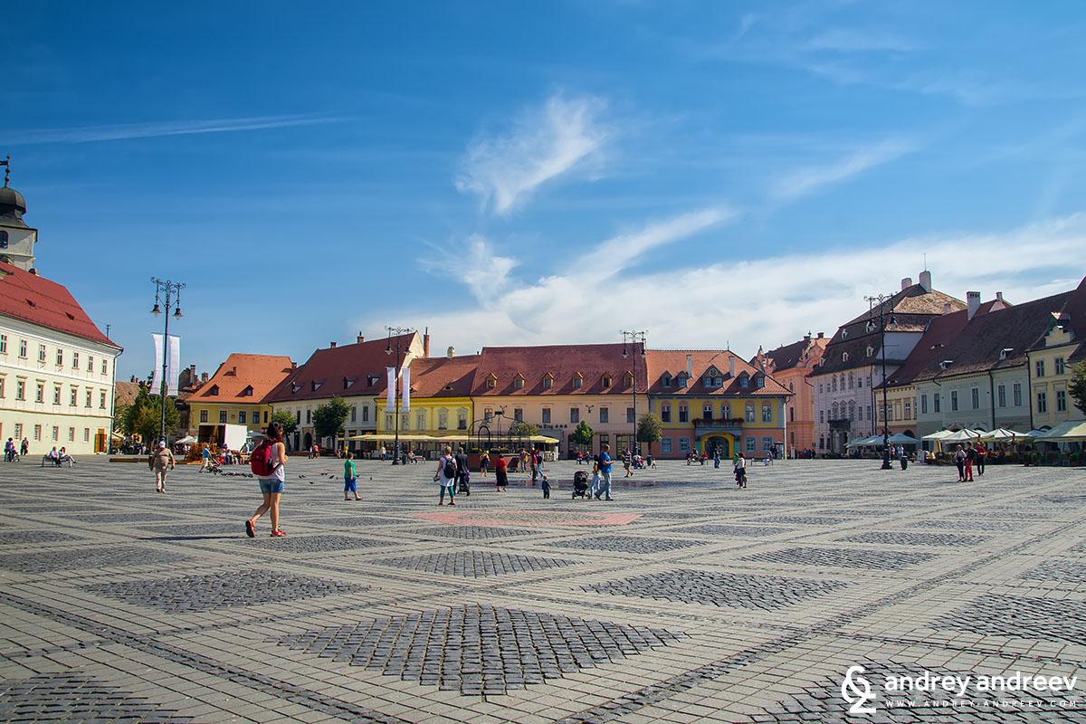 Central square of Sibiu