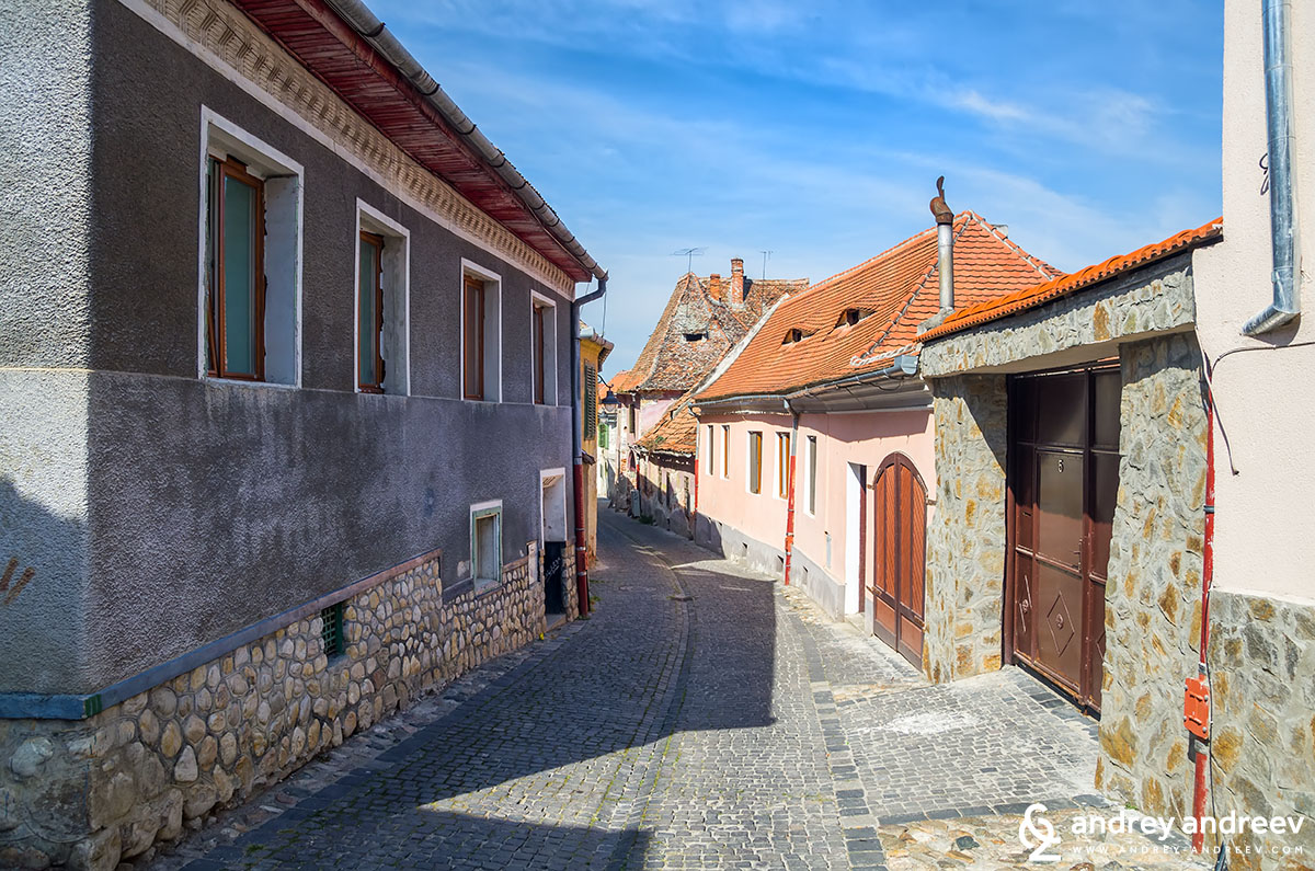 The lower town of Sibiu,