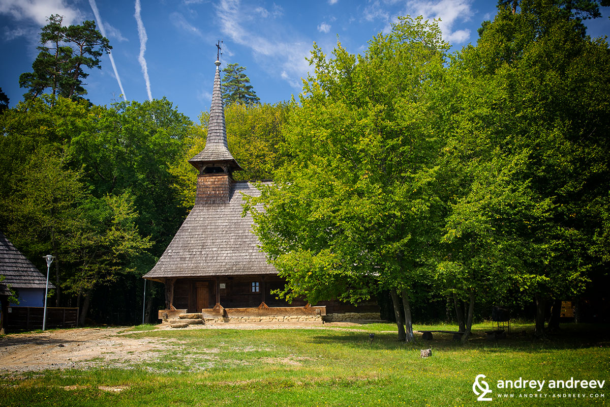 ASTRA museum - wooden church