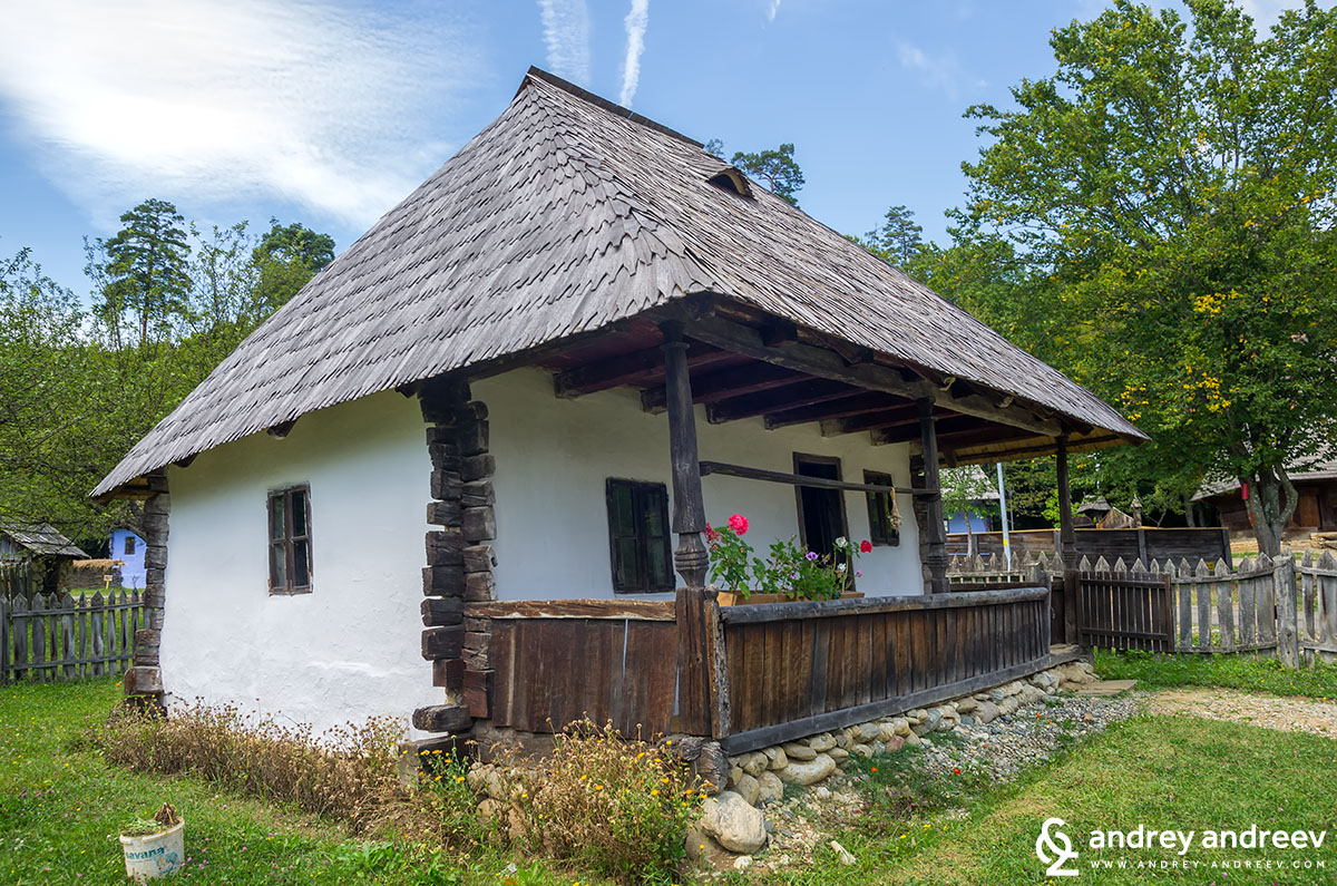 House at ASTRA museum Sibiu
