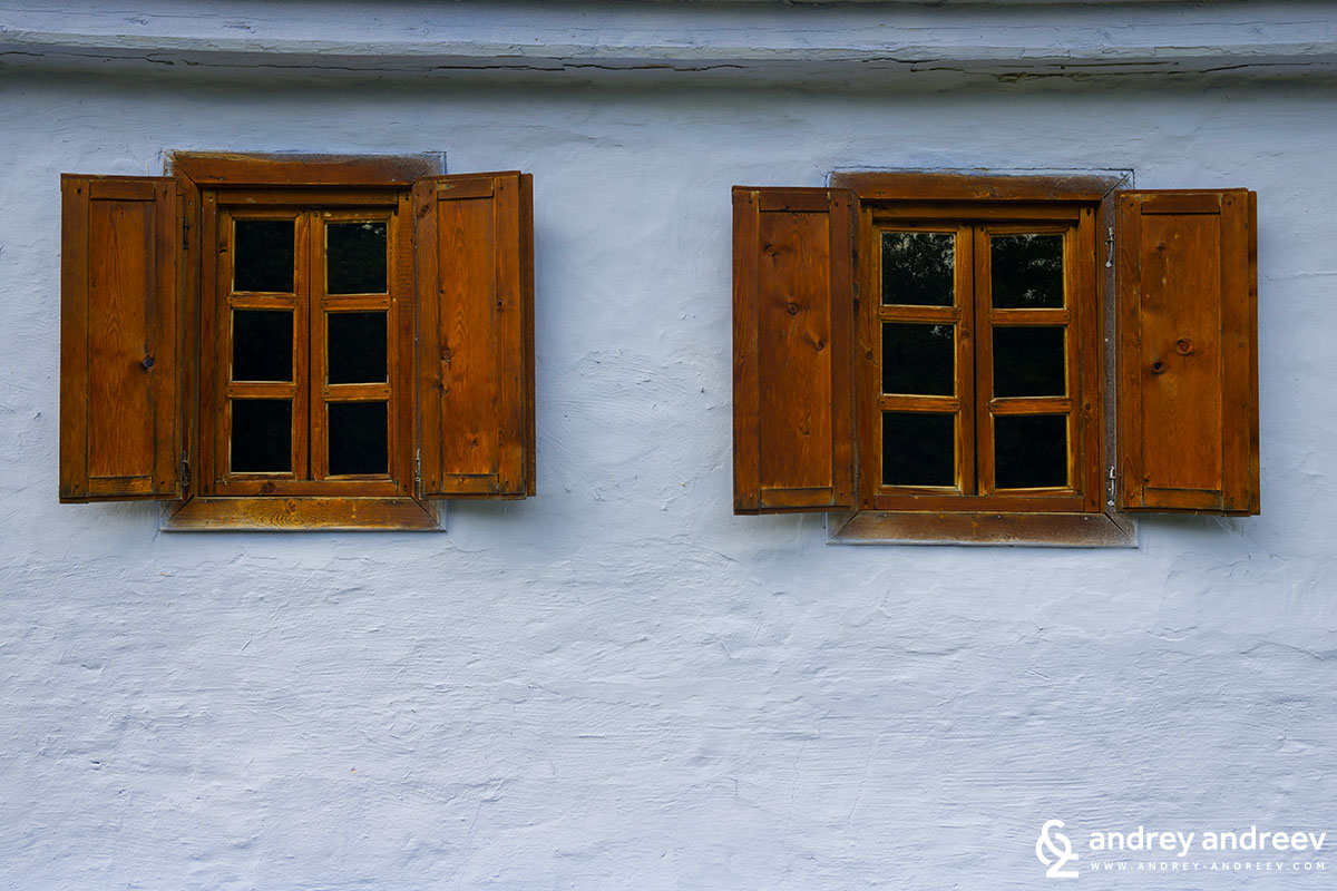Windows at ASTRA museum