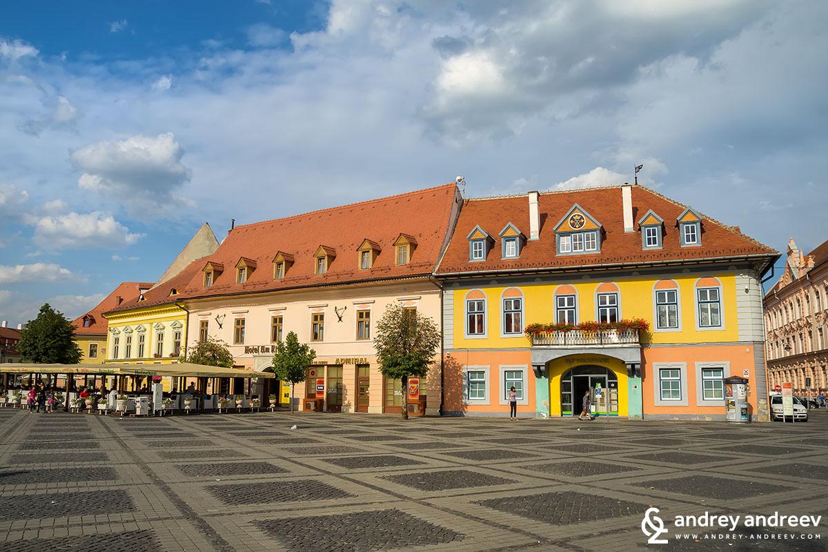 Grand square of Sibiu