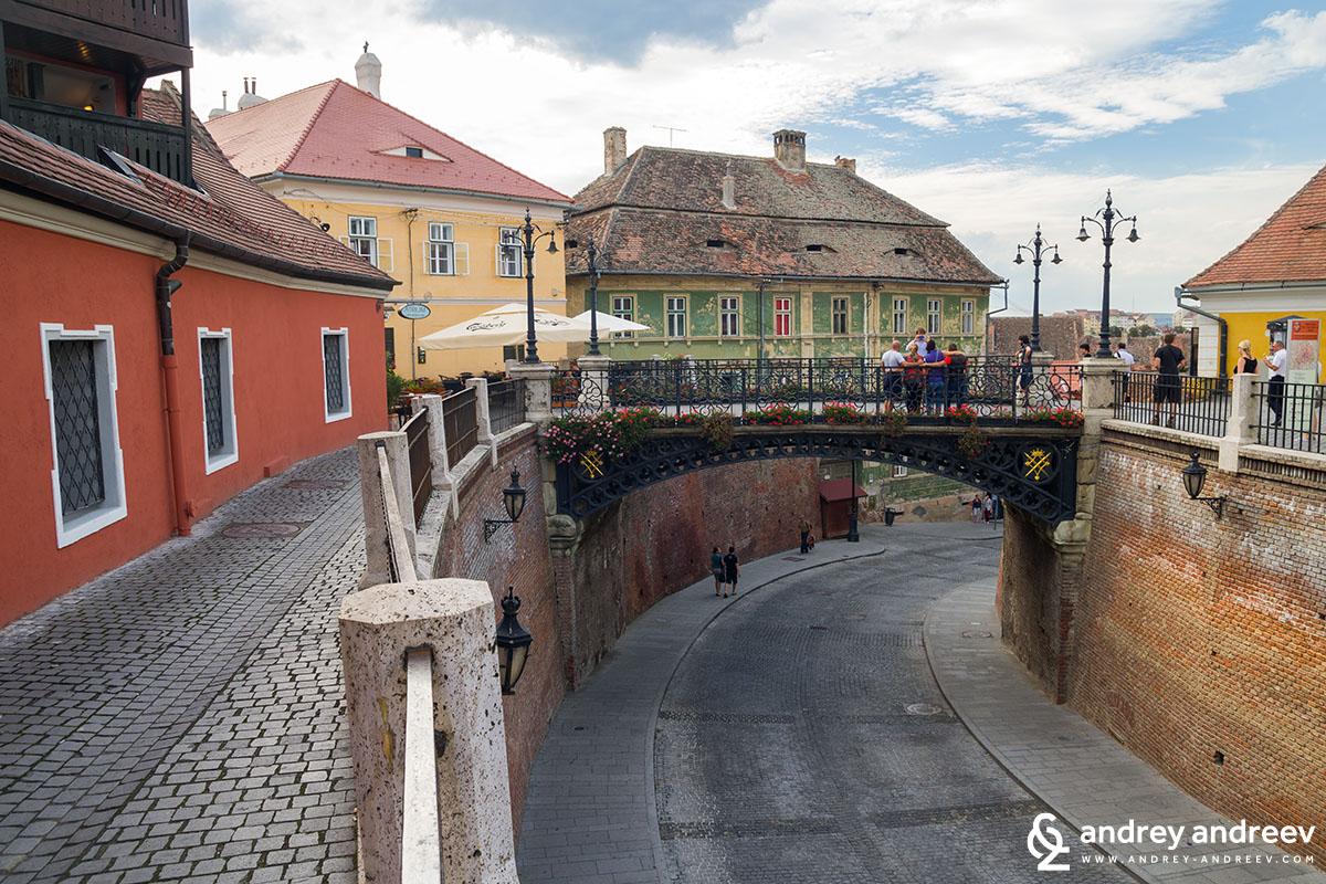 Мостът на Лъжите в Сибиу