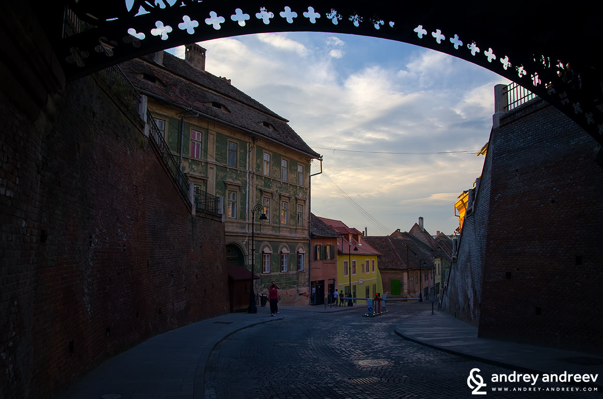 The bridge of lies in Sibiu. Romania