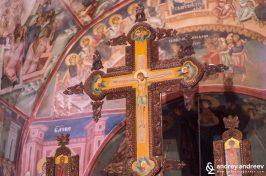 Интериор на църквата в Погановския манастир